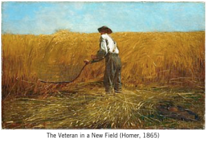 Veteran in a New Field by Winslow Homer