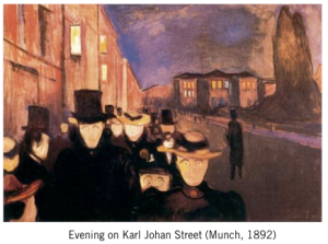 Painting by Munch