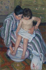 Mary Cassatt's The Child's Bath