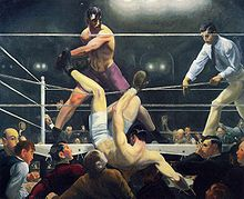 Dempsey and Firpo by Bellows