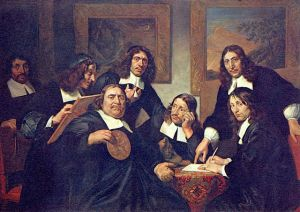 Members of the Guild, Haarlem by De Bray