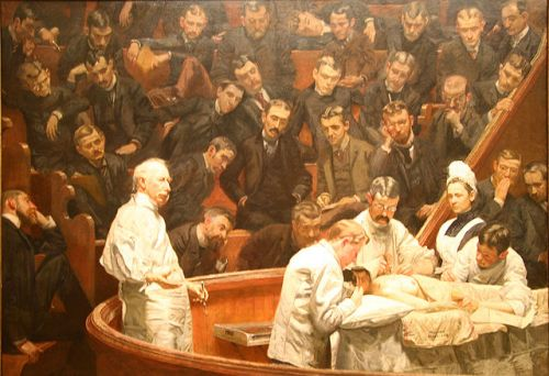The Agnew Clinic by Thomas Eakins,