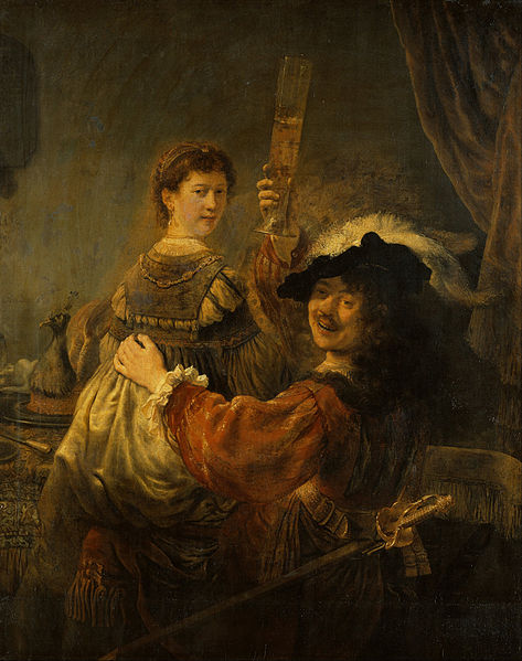 473px-Rembrandt_-_Rembrandt_and_Saskia_in_the_Scene_of_the_Prodigal_Son_-_Google_Art_Project