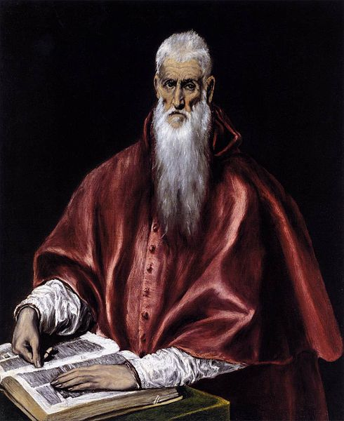 490px-El_Greco_-_St_Jerome_as_a_Scholar_-_WGA10625
